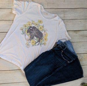 O'Neill Buffalo T Shirt sz M